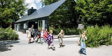 Nominerede til renoveringsprisen 2014. Her er det Mirror House i København.